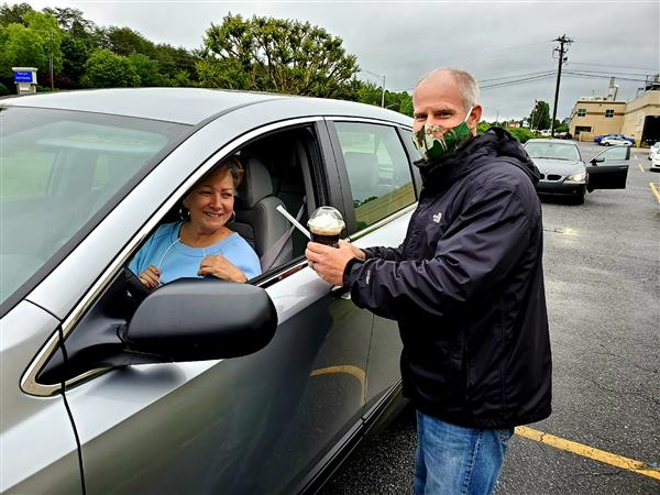 Retirees Recognized during Drive-thru Celebration