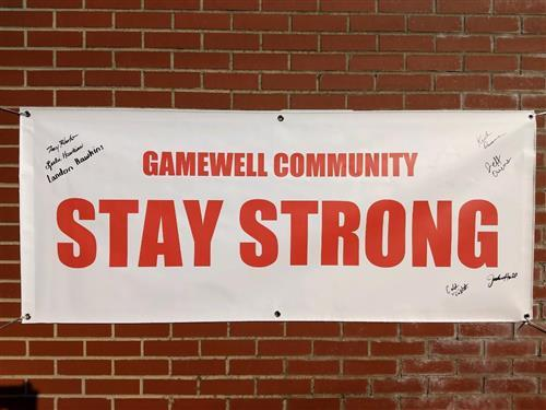 Gamewell Community Strong