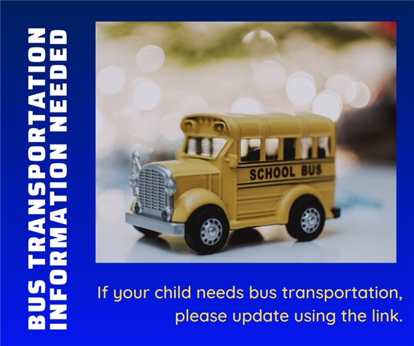 Bus Transportation Information Needed