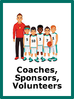 Coaches, sponsors and volunteers