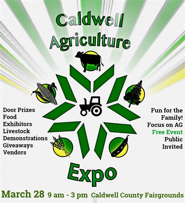 Caldwell Agriculture Expo March 28, 2020