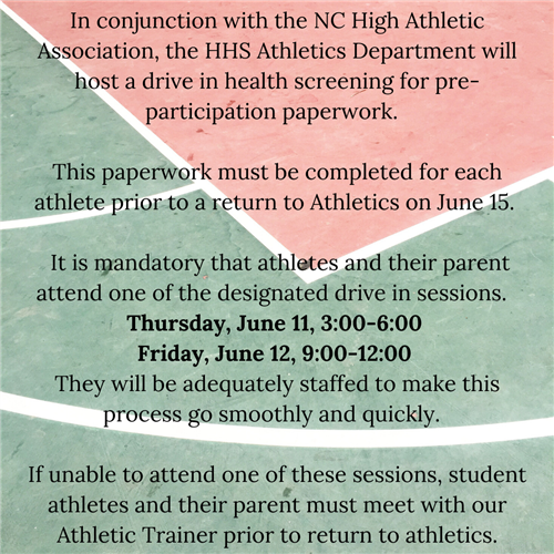 Return to Athletics